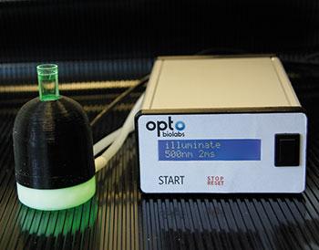 Gas Water Licht : Laborjournal online methoden dosiertes led licht für optogenetik